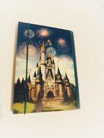 Walt Disney World Disneyland Light Up Cinderella Castle Journal Diary Notebook