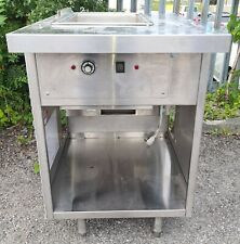 More details for stainless steel bain marie stand alone unit 610*850