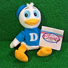 NEW Disney Bean Bag Plush Toy DEWEY The Duck Donald's Ducks - MWMT - Ships FREE