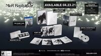 NieR Replicant Ver.1.22474487139 White Snow Edition PS4 with Limited Steelbook