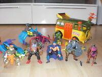 Teenage Mutant Ninja Turtles TMNT Sammlung 1988 100% TOP Bandai Playmates