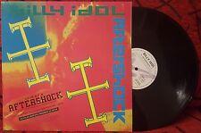 "BILLY IDOL ***Aftershock** VERY RARE & SCARCE Spain 12"" Single 1993 **PROMO**"