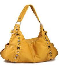 Yellow Designer Inspired Studded Purse