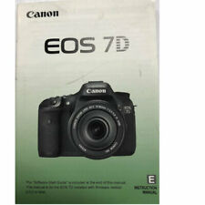 Canon  EOS 7D  Instruction Owners Manual EOS7D Book NEW