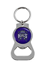 Sacremento Kings NBA Bottle Opener Keychain