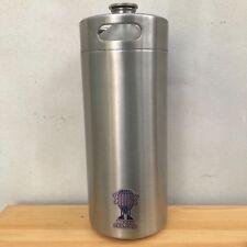 Mini Barril De Cerveza gruñón 4L De Acero Inoxidable Botella de rosca desnuda barril