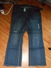 NWT TORRID BRAND DISTRESSED RELAXED BOOTLEG JEANS BOOT CUT SZ 18