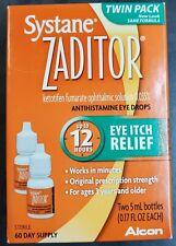 Zaditor Antihistamine Eye Drops Twin Pack 5-mL Each
