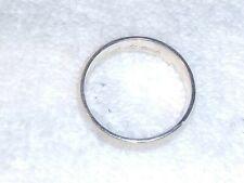 Band Ring Solid Gold #0117 14K Gold Ja Wedding