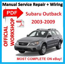 #offi workshop manual service repair for subaru legacy liberty outback 2003 -2009