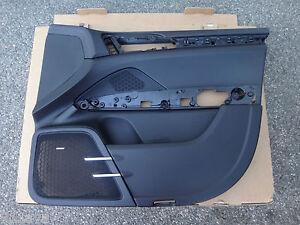 PORSCHE 2011 17 CAYENNE BLACK FRONT RIGHT OEM DOOR PANEL PART NO 95855520201DK4