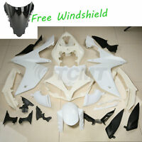Unpainted Injection ABS Bodywork Fairing Kit For Yamaha YZF R1 YZFR1 2007-2008