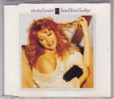 AUDREY LANDERS - SANTA MARIA GOODBYE - 3 TRACK MAXI CD GERMANY © 1991
