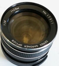 28mm f1:2.8 Derek Gardner optics M42 Fitting