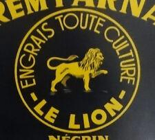 Large French Vintage Metal Advertising/ Publicity Panel/ Sign Le Lion