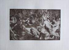 Das Leichenbegängnis - Kupfertiefdruck Kunstdruck 1923 Rubens