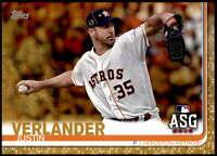 Justin Verlander 2019 Topps Update 5x7 Gold #US96 /10 Astros