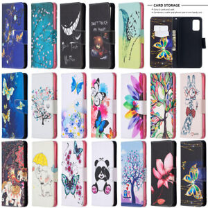 For Samsung Galaxy A72 A52 A42 A32 A12 A02S Wallet Flip Leather Phone Case Cover