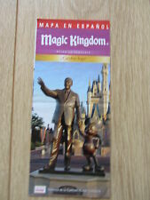 Disney World Spanish / Espanol Magic Kingdom Park / Guide Map  - 2010