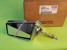 NOS Mopar 04318281 Left Chrome Mirror for 85-88 LeBaron Town&Country 600 K-Car