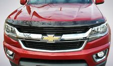 Bug Shield & Tape-On Wind Deflectors for 2015 - 2020 Chevy Colorado Crew Cab