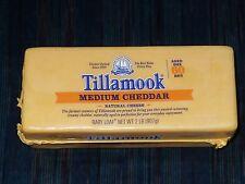 2 lb Tillamook Cheese Medium Cheddar From Oregon! Never Frozen!