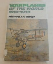 Warplanes of the World, 1918-1939 by Michael J. H. Taylor (1981, Hardcover)