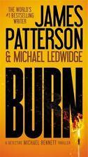 Burn-James Patterson-2015 Michael Bennett novel-large paperback-combined ship
