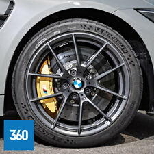 "NEW GENUINE BMW M3 M4 19"" 20"" 763M SPORT ALLOY WHEELS MICHELIN TYRES TPMS"