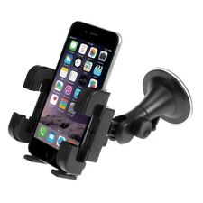 Car Mount Windshield Holder Glass Cradle Rotating Dock Suction for Smartphones