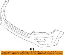 FORD OEM 16-17 Explorer-Bumper Cover FB5Z17D957APTM