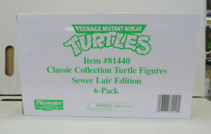 TMNT: Classic Collection Sewer Lair Edition 6-Pack (2021) Playmates Toys New