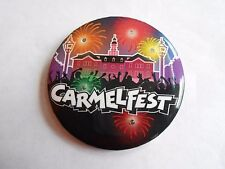 Vintage Carmelfest Carmel In 4th of July Festival Souvenir Battery Light Pinback
