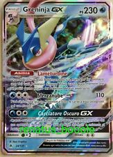 Carta Pokemon GRENINJA GX 24/131 APOCALISSE DI LUCE FULL ART EX IPER IN ITALIANO