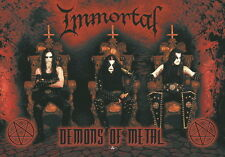 "IMMORTAL FLAGGE / FAHNE ""DEMONS OF METAL""  POSTERFLAGGE"