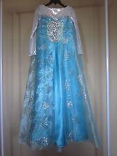 Halloween Costume for Girl Elsa (Frozen movie) dress Size 7-8 years SLIM