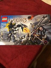 LEGO Vikings 7021 Viking Double Catapult vs THE Armoured Ofnir Dragon NEW SEALED