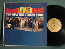 The Ike & Tina Turner Show Live Warner Brothers Stereo LP Record MINT- SOUL