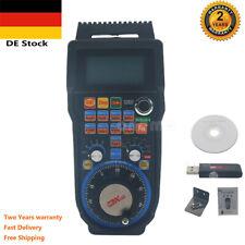 Wireless Mach3 MPG Pendant LCD Handwheel controller for CNC Mach3 4-axis EU