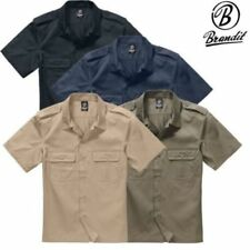 Polyester Short Sleeve Regular Size Casual Shirts for Men