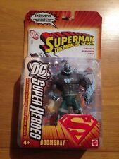 2006 DC Superheroes Doomsday Action Figure With Comic, MOC #J5148 Mattel
