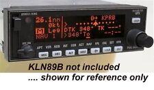 Connector kit for Bendix/King KLN89 KLN89B, with panel data jack