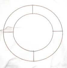 """10 X 8"""" Wire Rings for Wreaths Christmas Xmas Memorial"""