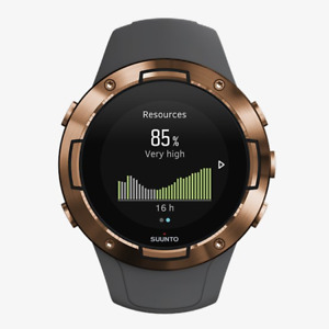 SUUNTO 5 Graphite Copper Sportuhr GPS Laufuhr Fitness Activity Tracker Wearab Br