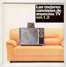 (HB697) Las Mejores Canciones de Anuncios TV Vol 1.2, 5 tracks - 2005 DJ CD