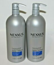 LOT (2) NEXXUS THERAPPE SHAMPOO 33.8 FL OZ ULTIMATE MOISTURE NEW YORK SALON CARE