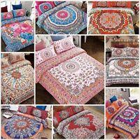 Luxury Boho Chic Bohemian Mandala Bedding Set Double King Duvet Cover Pillowcase