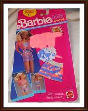 Vintage Barbie Clothes - Fashion Wraps - 1980's - NRFP Mattel -  Lot 5