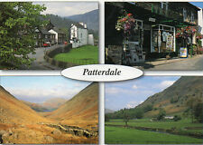 Postcard  Cumbria   Patterdale multiview unposted Millstone