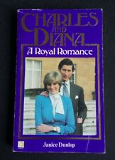 Pre-Owned 'Charles and Diana - A Royal Romance' - Janice Dunlop Paperback Book